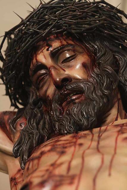 Rosto de Cristo morto na Cruz, segundo o prof. Juan Manuel Miñarro